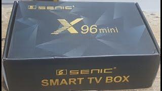 مراجعة وأستعراض X96 mini smart TV box لتغير تلفزك الى تلفاز دكي SMART TV