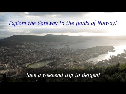Weekend trip to Bergen, Norway