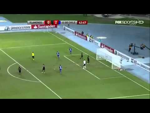Flamengo 0 Vs 4 U. De Chile (Copa Bridgestone Sudamericana) 2011