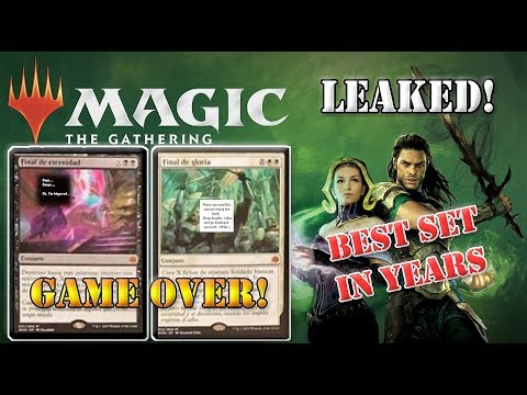 War of the Spark Spoilers LEAKED MTG Infinite Combo
