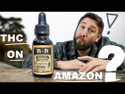 He sent Amazon's CBD to a lab. Is R+R Medicinals real CBD?