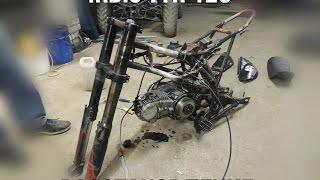 Восстановление питбайка Irbis ttr 125 (3 серия) (Проект НзН)