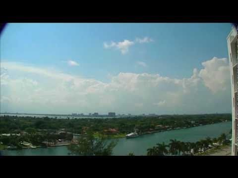 Miami Beach Afternoon Thunderstorm Time Lapse (5-27-12)