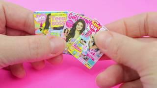 как сделать журнал для кукол своими руками