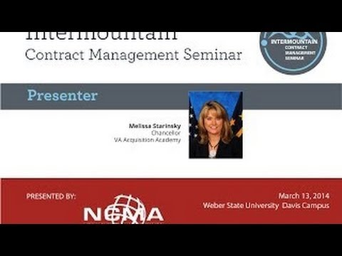 Great Salt Lake NCMA/ICMS Panel Discussion: Jump Start Your Federal Contracting Career
