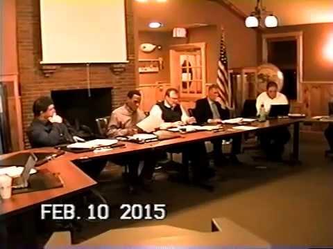 Tewksbury, MA Board of Selectmen's Meeting: Feb. 10, 2015 Part 1 of 3