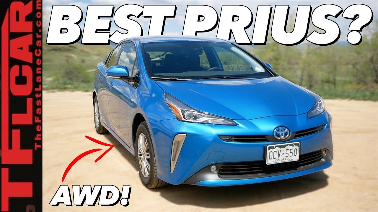 2019 Toyota Prius AWD-e Review: The Most Unique Prius You