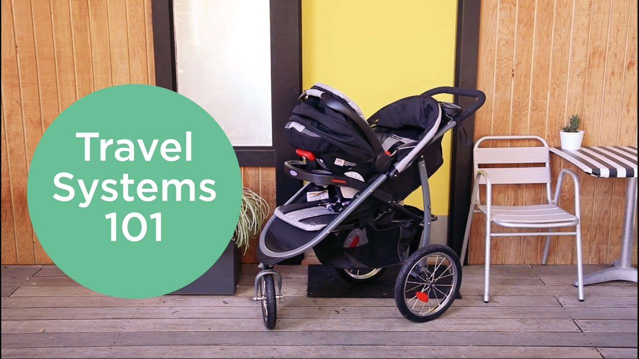 Traveling with a Newborn: Travel Systems & Stroller Caddy ...