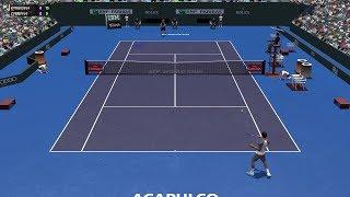 Full Ace Tennis Simulator - Nick Kyrgios vs Alexander Zverev - PC Gameplay