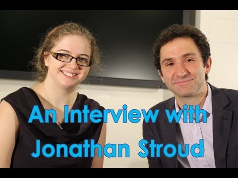 An Interview with Jonathan Stroud