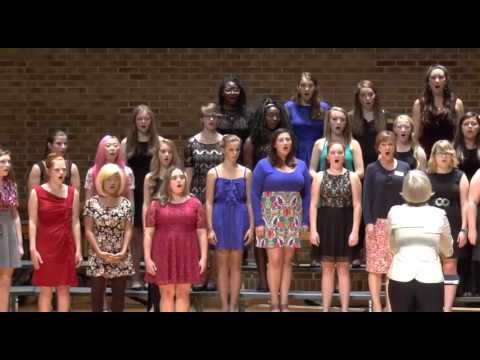 Cannon Music Camp Women's Chamber Singers 2015