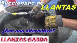Reparación de Llanta Tronada. Seccionado Profesional.