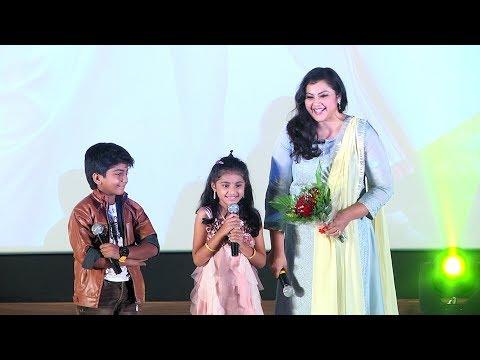 Theri Baby Nainika Cute Speech    Meena  ...