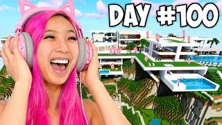 Survive 100 Days, I&#39ll Give You $10,000! - Minecraft