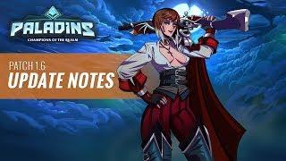 """Paladins - 1.6 Update Show - """"Dark Tides"""""""