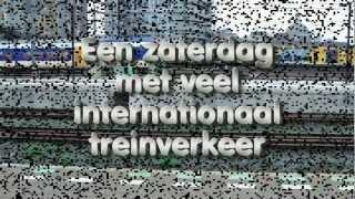 Treinen Amsterdam Centraal Station (origineel audio)