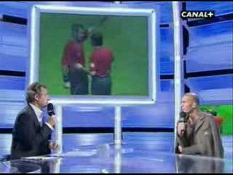 Zidane headbutt interview (engilish )