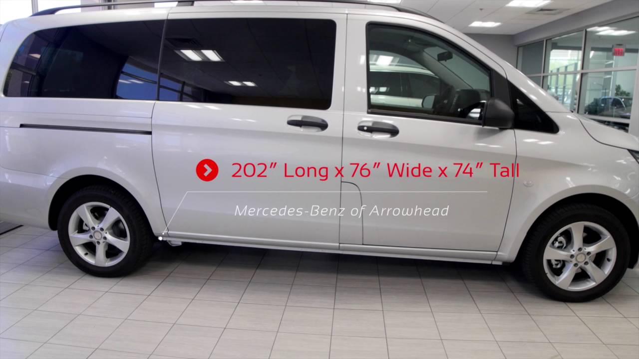 2016 mercedes benz metris passenger van from mercedes for Arrowhead mercedes benz