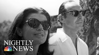 Love Letters Between Jackie Onassis And British Ambassador Sold At Auction | NBC Nightly News