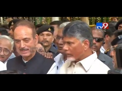 Chandrababu and Opposition leaders Press Meet LIVE || Delhi - TV9