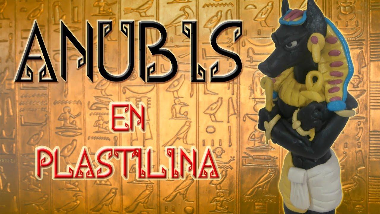 Mitología egipcia: Cómo hacer a Anubis en plastilina