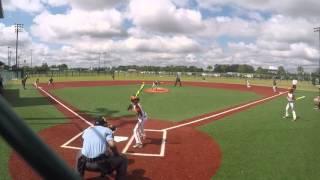 9u baseball lining lasers jacob kendall 2016