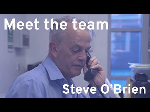 Meet the Team: Steve O'Brien