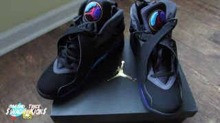 Air Jordan 8 Lacing Video #ClothTalk #Keys #FirstLacingVideo
