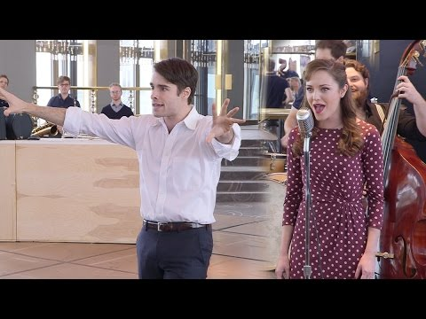 Laura Osnes and Corey Cott Sing the Tunes of Broadway's Bandstand