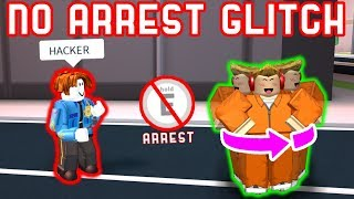 *NEW* NO ARREST GLITCH!? - Roblox Jailbreak Mythbusting