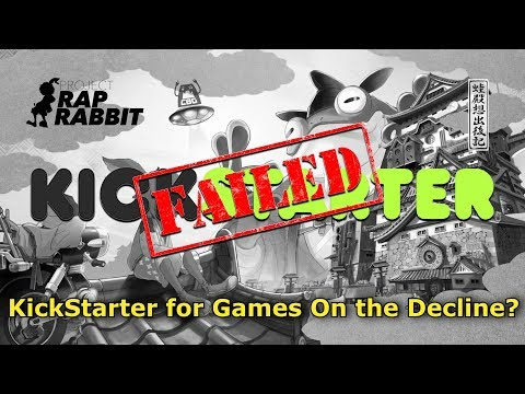 Project Rap Rabbit Fails Kickstarter. Is Kickstarter for games on the Decline?