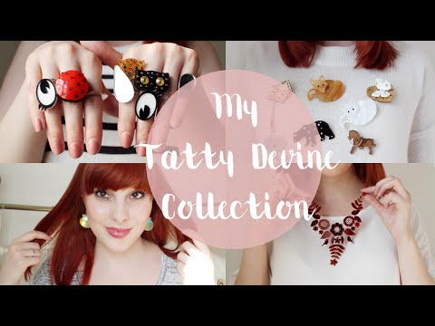 My Tatty Devine Collection | Zoey Olivia