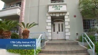 1706 colby avenue west los angeles condo for sale
