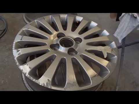 How to Prepare Alloy Wheels for Painting