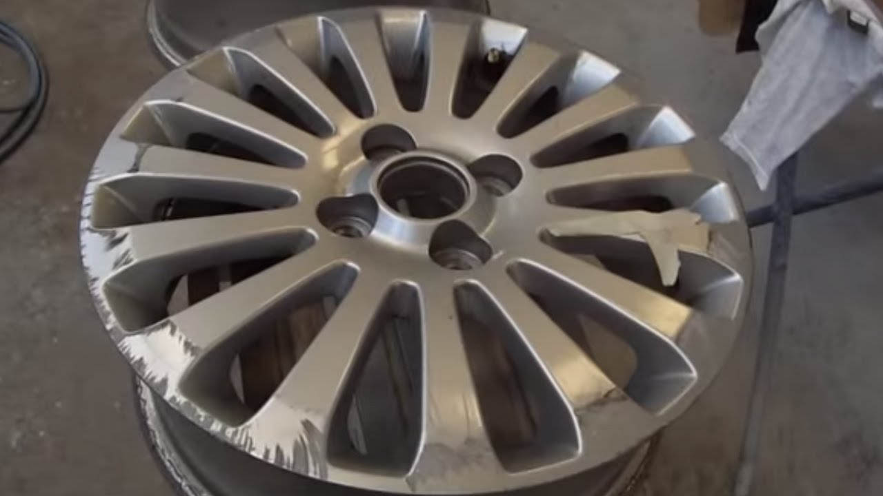 how to clean alloy wheels youtube