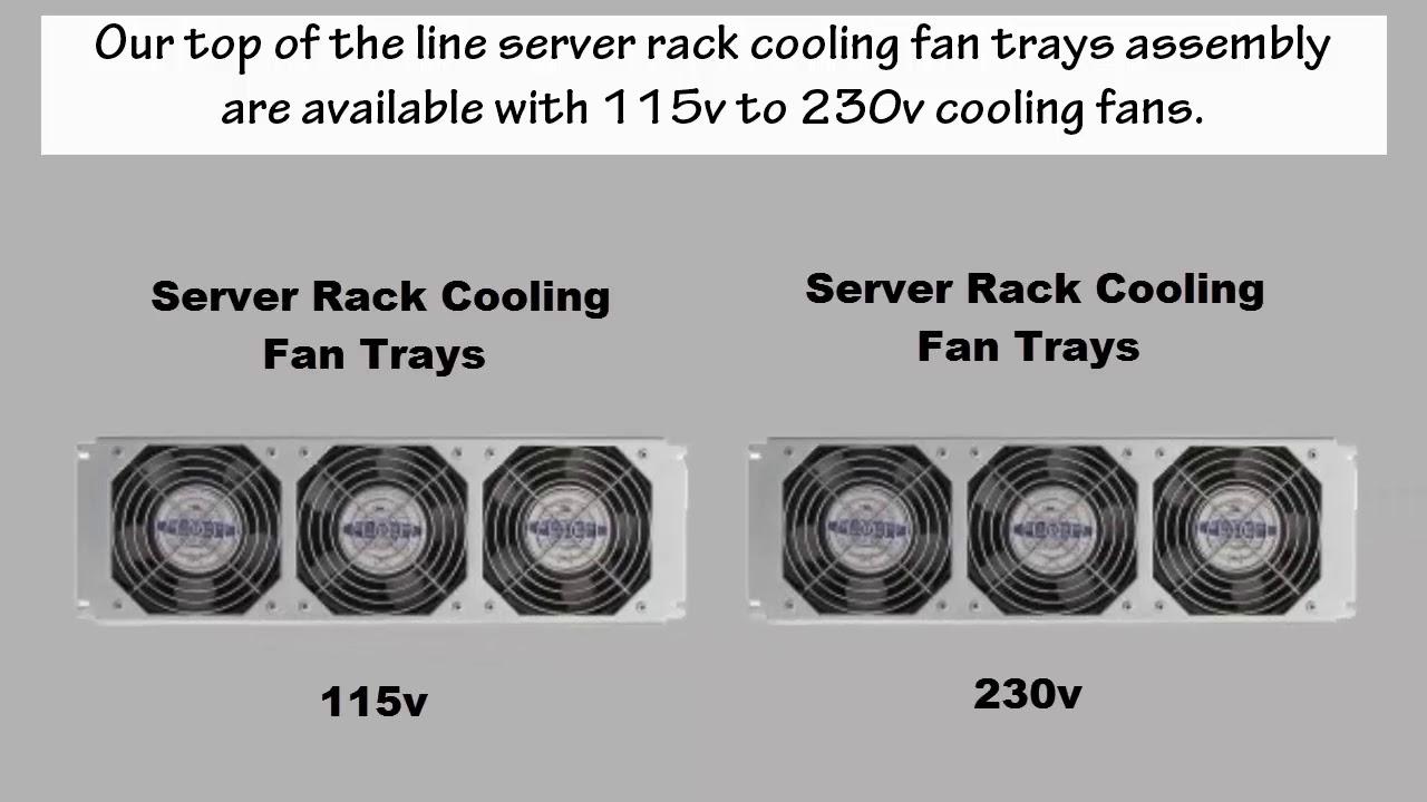 fan tray assemblies server rack cabinet cooling by gardteconline