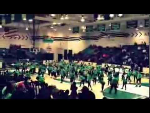 South side high school Flashmob