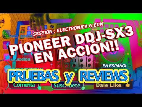 PIONEER DDJ SX3 EN ACCIÓN