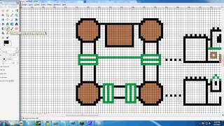 Just a tutorial on how to use Paint and Gimp to plan some great structures in Minecraft. This is a step by step tutorial. You can