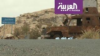 كاميرا العربية تتجول في مديرية باقم في صعدة