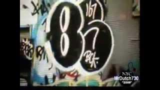 "Graffiti - ""New York City"" Graff Bombing !!"