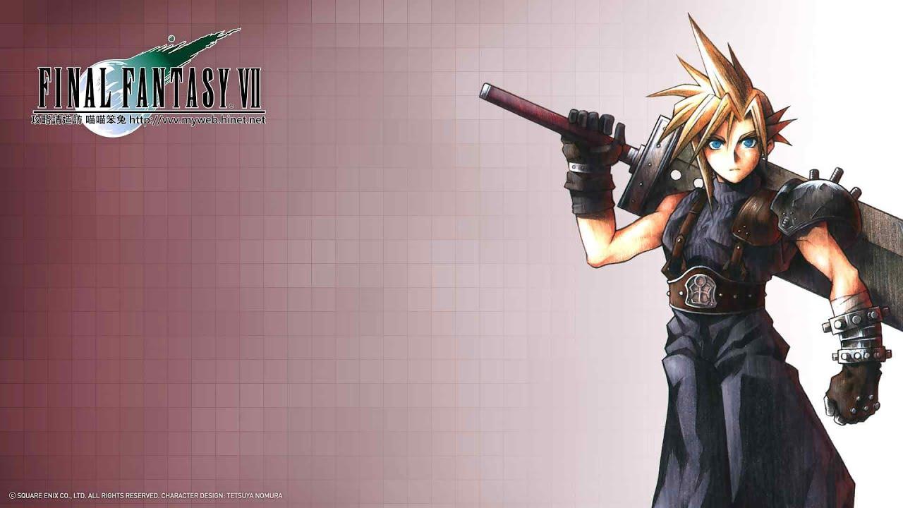 太空戰士7 (最終幻想7) Final Fantasy Ⅶ 結局動畫 - YouTube