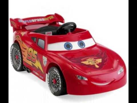 Coche juguete para montar power wheels fisher price disney - Juguetes disney cars ...