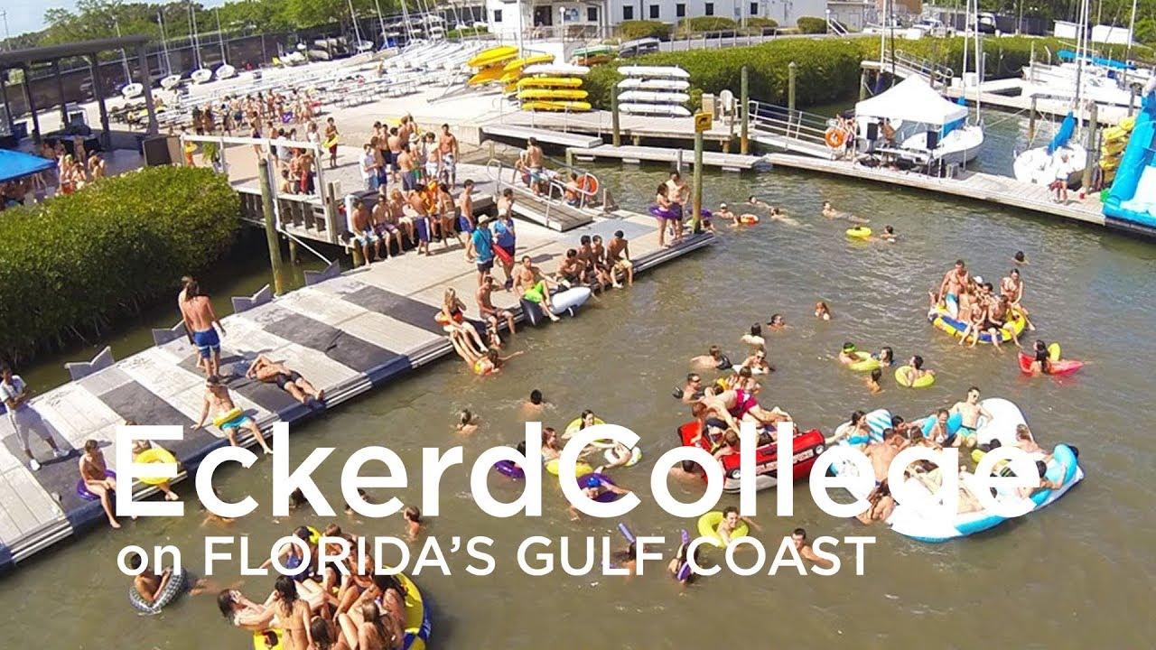 Eckerd College Aerial Youtube