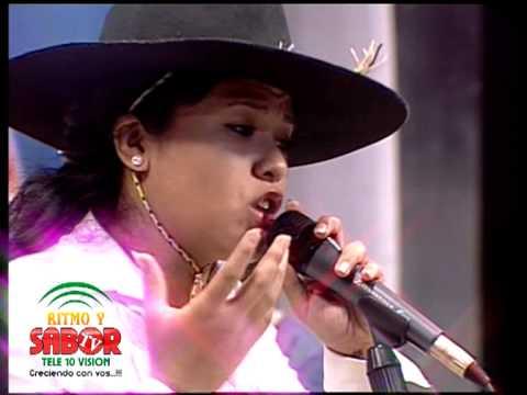 Noelia Laime La Gauchita Salteña en Ritmo y Sabor TV - Quisiera - Meo Producciones