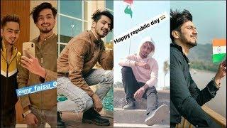 Republic Day Special-TikTok Superstars Mr Faisu, hasnain, adnaan, faiz baloch & team07 TikTok video.