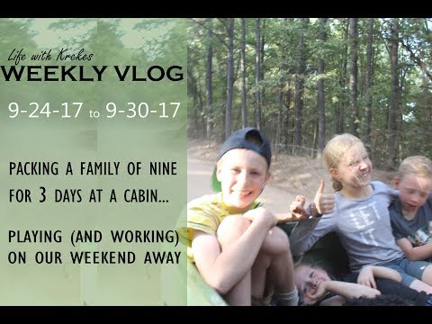 Weekly Vlog: Sept 24-30