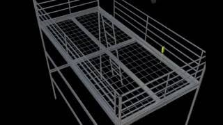 Ikea Loft Bed - Instructions In 3d