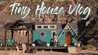 I Stayed In An Actual Tiny House | Utah | Brothers Birthday