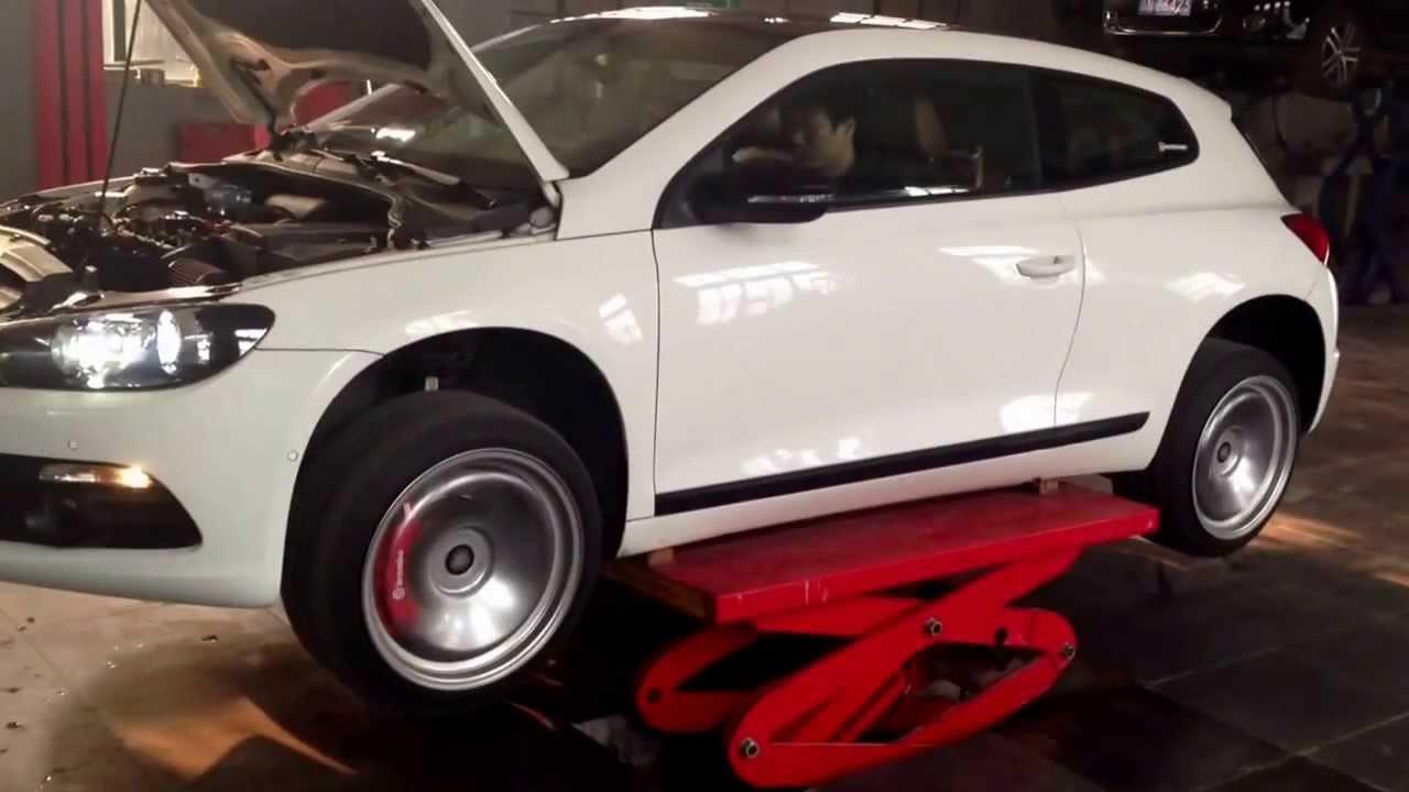 Scirroco TSI GTX2863 AWD conversion - YouTube
